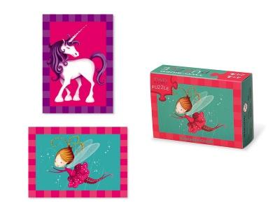 Poza produs Puzzle cu doua fete Zana