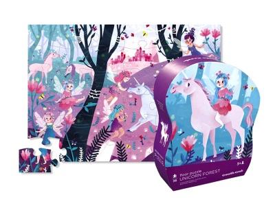 Poza produs Puzzle Padurea Unicornilor