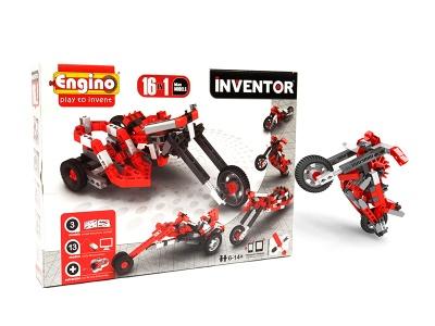 Poza produs Engino 16 in 1 Motorbikes