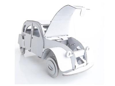 Poza produs Tin Snail Car - Alb