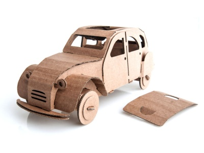 Poza produs Tin Snail Car - Natural
