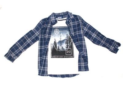 Poza produs Set camasa + tricou FOREST