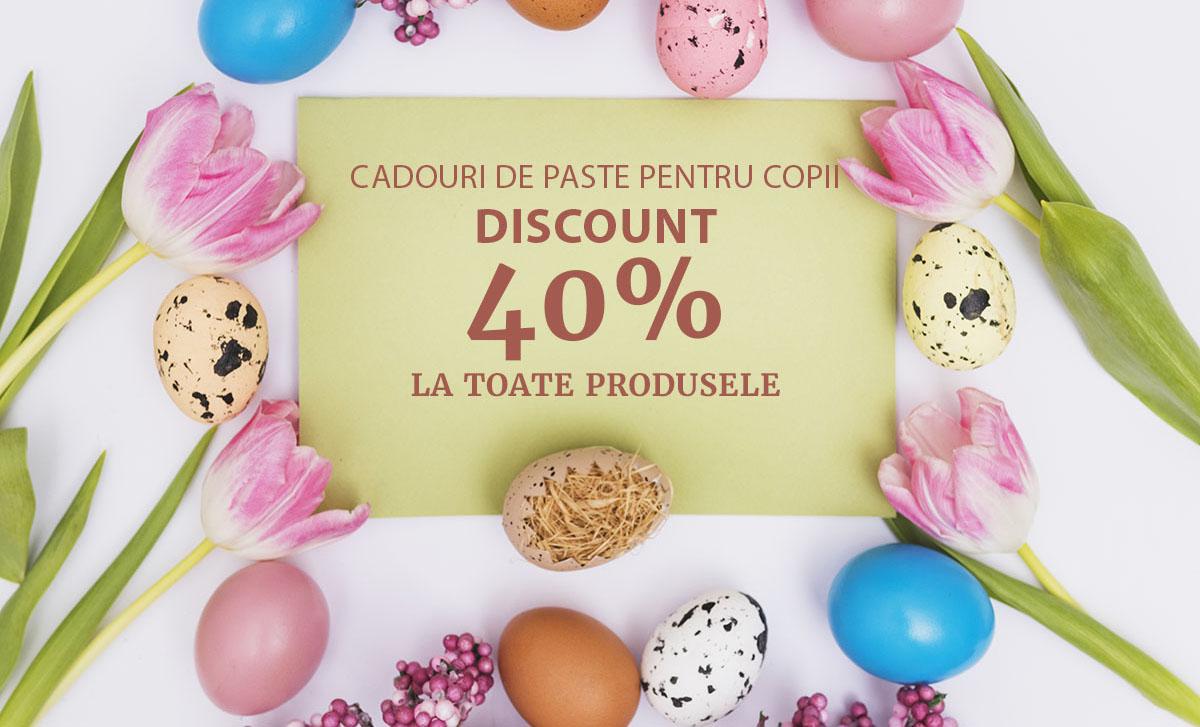 40% DISCOUNT la toate produsele Zgubidubi